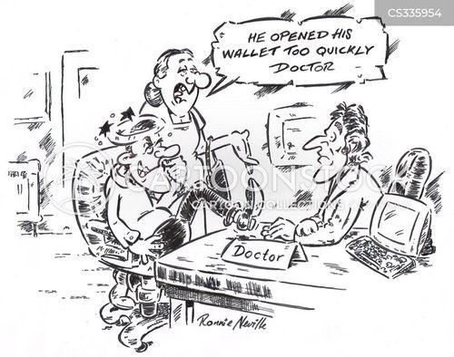 concussed cartoon