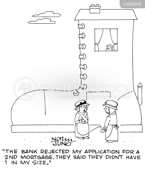 mortgage applications cartoon