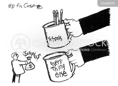 extra funds cartoon