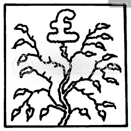 ready cash cartoon
