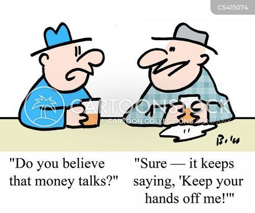 money talks cartoon