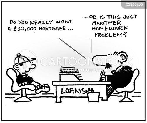 homework problem cartoon