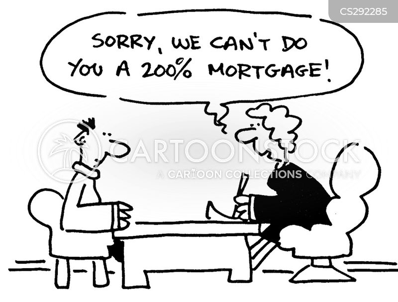 housing loan cartoon