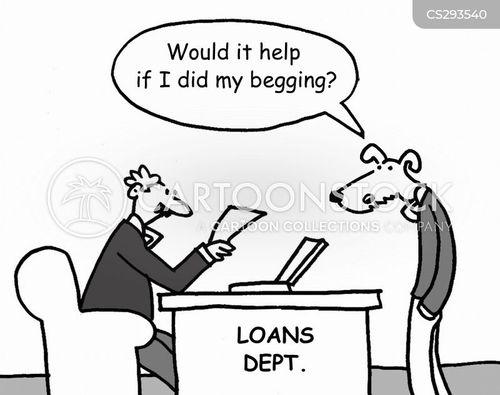 loans applicant cartoon