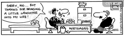 house buyer cartoon