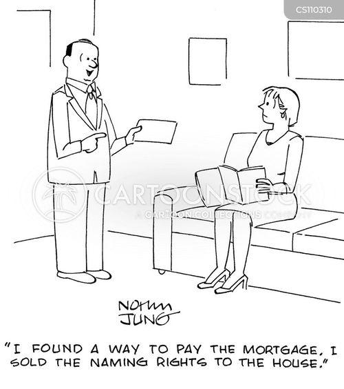 house name cartoon