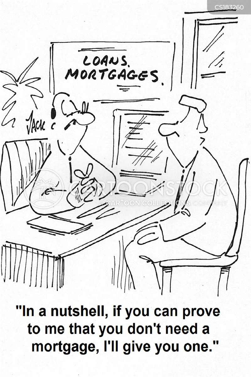 irresponsible lenders cartoon