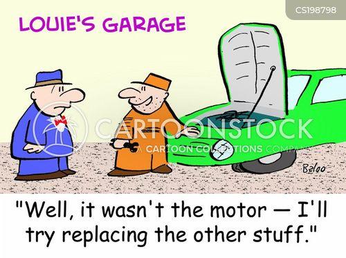 motors cartoon