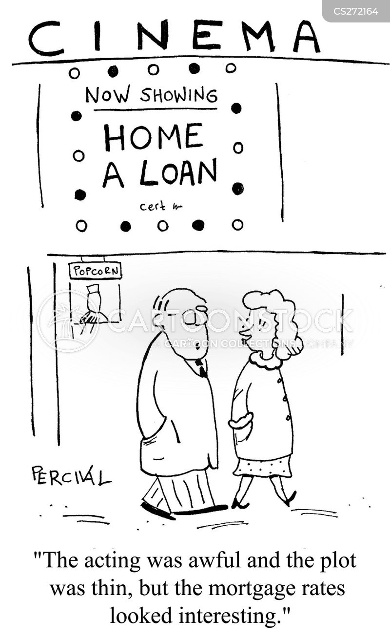 Mortgage Rates Cartoons And Comics Funny Pictures From CartoonStock Cool Mortgage Quotes