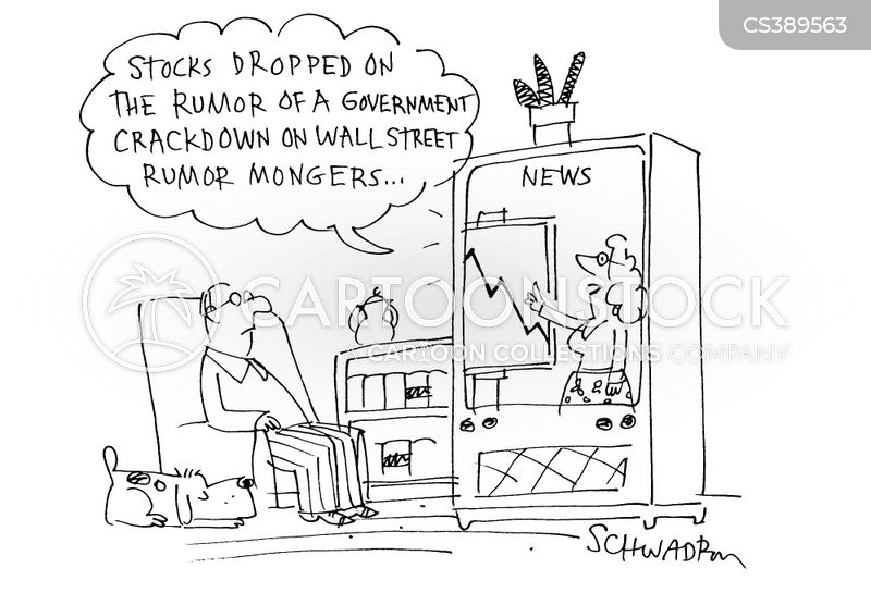 wall street rumors cartoon