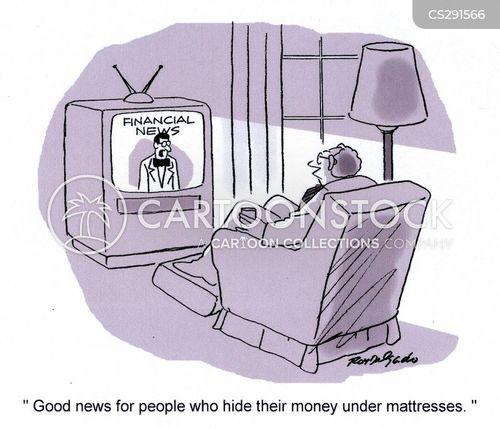 lost money cartoon