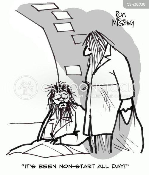 non-starters cartoon