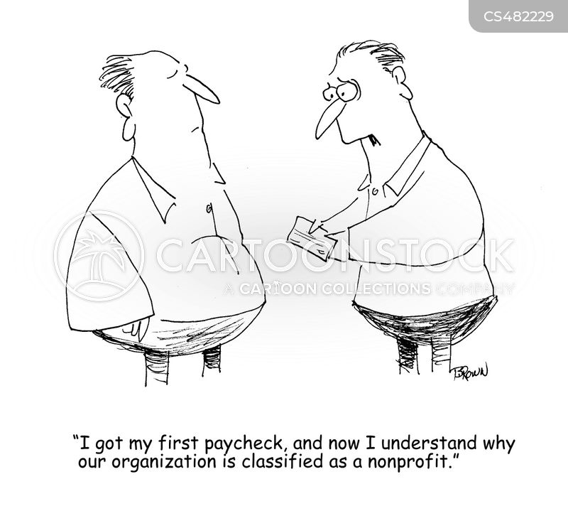 nonprofits cartoon