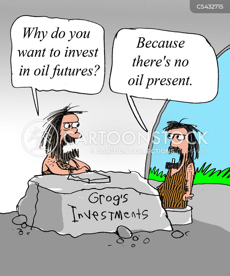oil industry cartoon