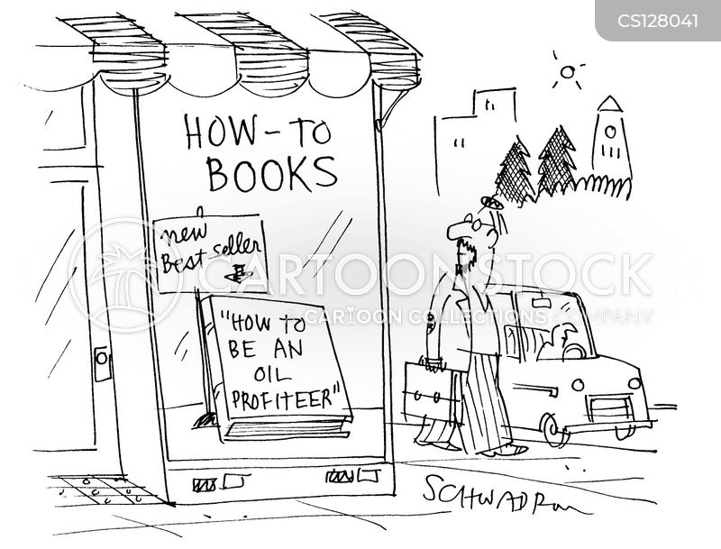 how-to book cartoon