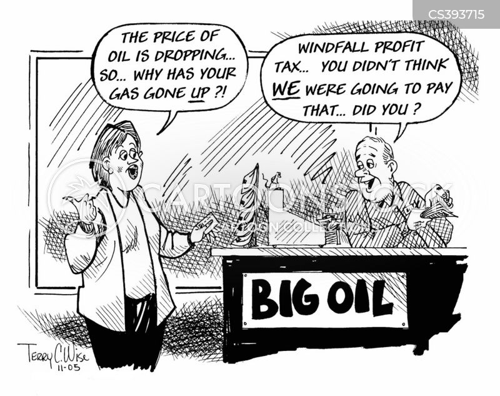 profit motives cartoon