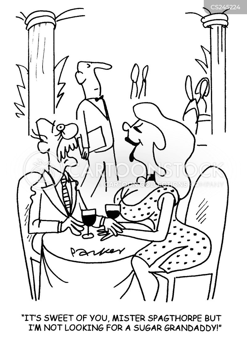 rich old man cartoon