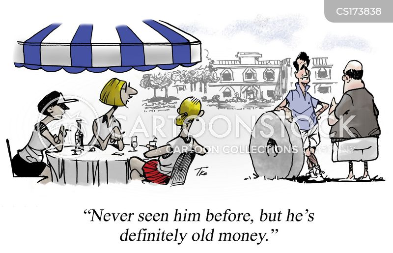 Old Money cartoons, Old Money cartoon, funny, Old Money picture, Old Money pictures, Old Money image, Old Money images, Old Money illustration, Old Money illustrations