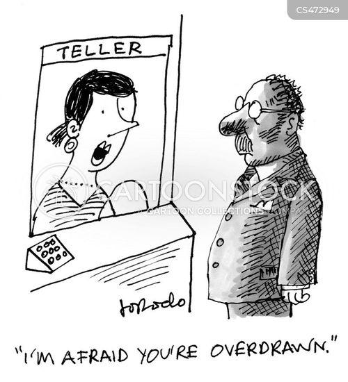 bank-tellers cartoon