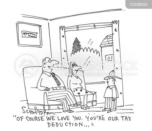 tax credits cartoon