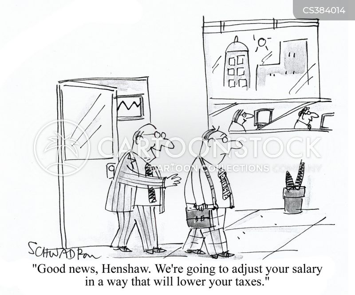 high taxes cartoon