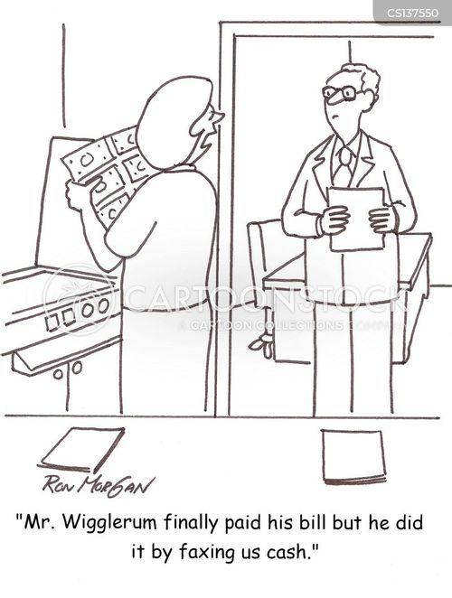 faxes cartoon