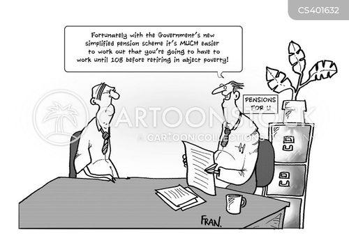 annuity cartoon