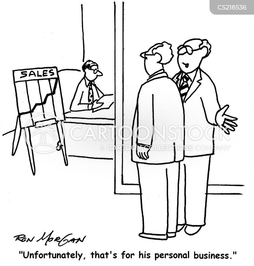 personal business cartoon