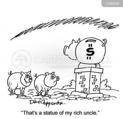 piggy-banks cartoon