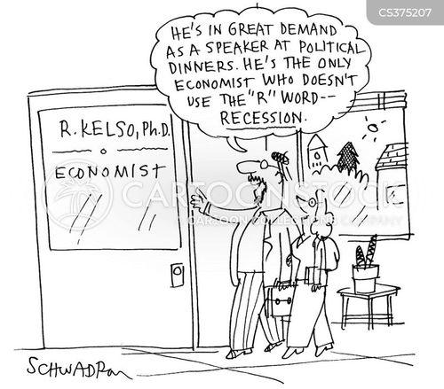 political dinners cartoon