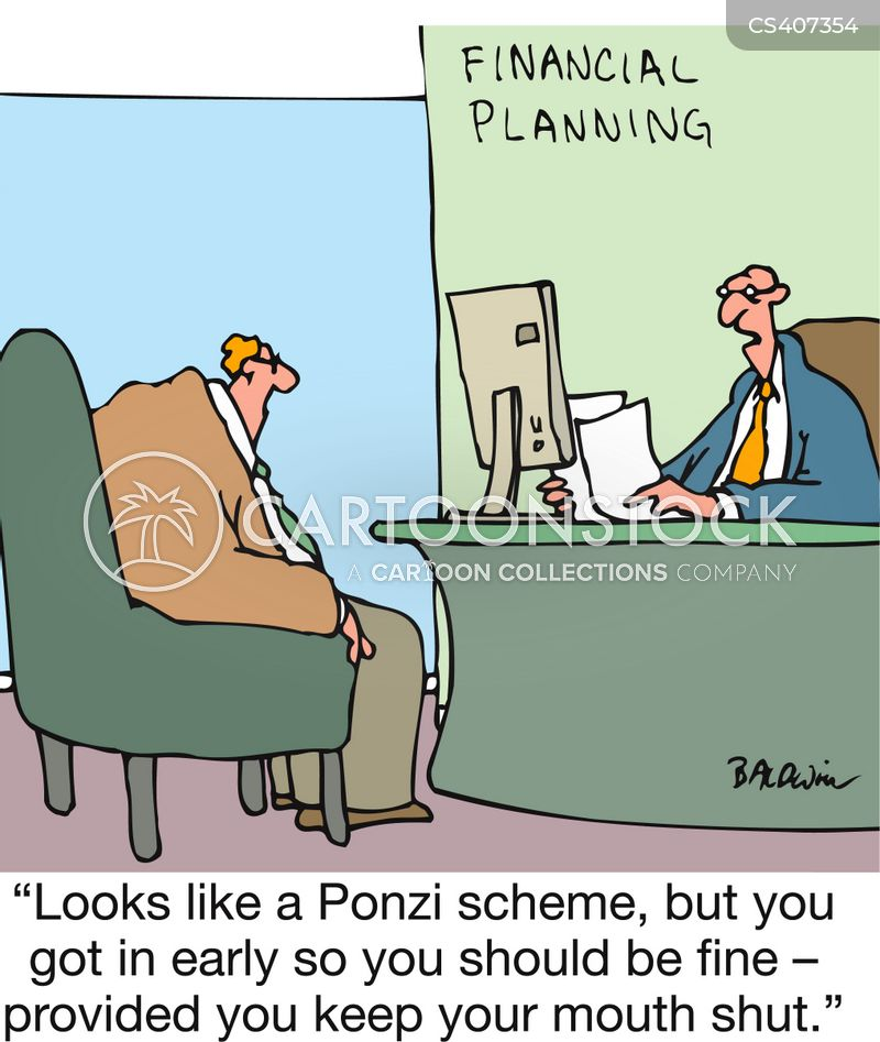 Image result for ponzi scheme cartoon