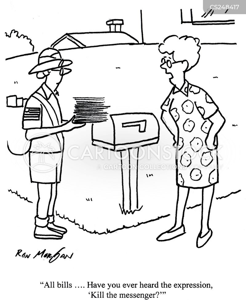 mailwomen cartoon