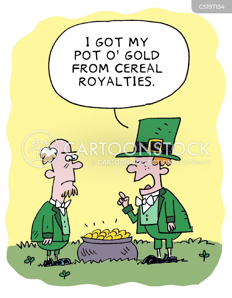 royalty payment cartoon