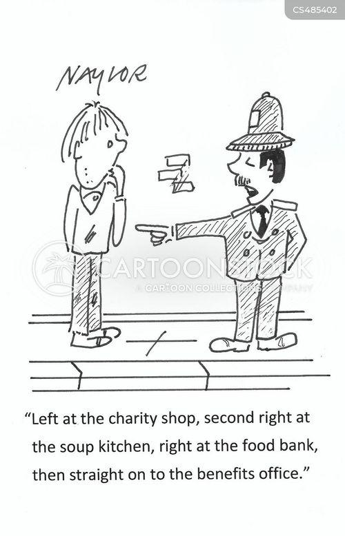 benefits offices cartoon