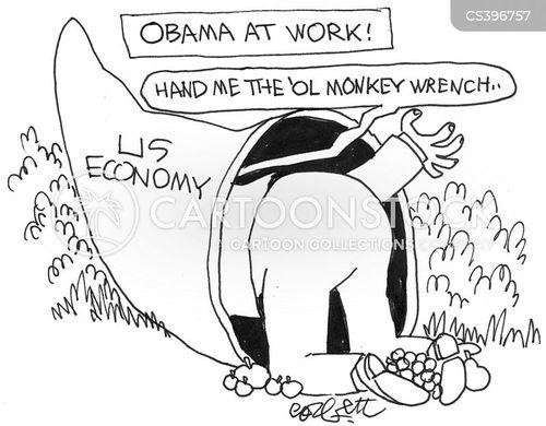 monkey wrench cartoon