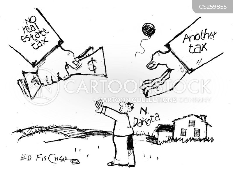 real estate tax cartoons and comics funny pictures from cartoonstock