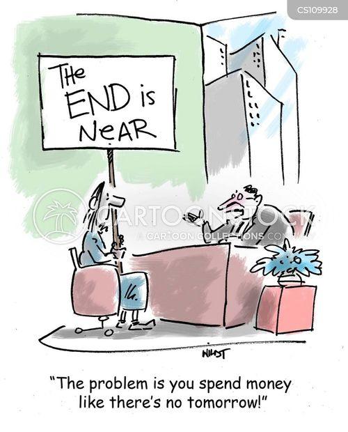 extravagance cartoon