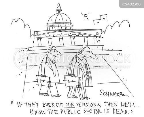 public money cartoon
