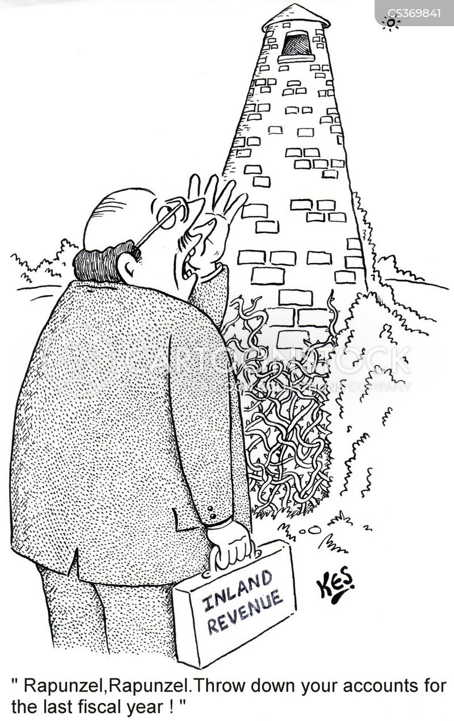 tax men cartoon