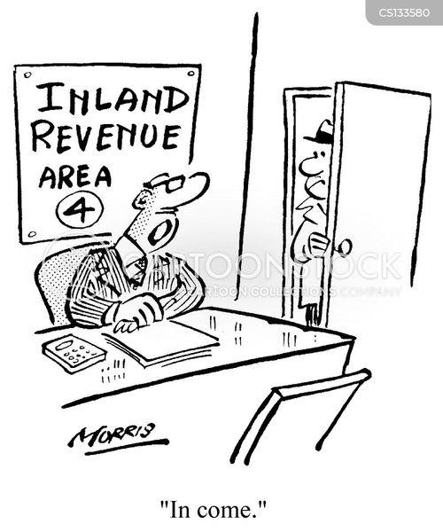 receiving cartoon