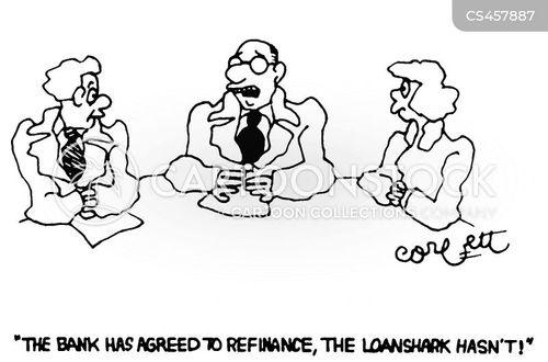 borrowed money cartoon