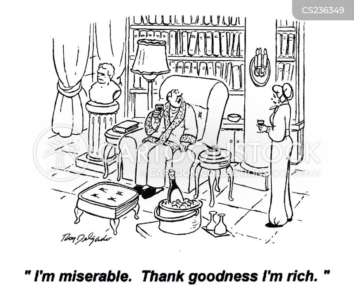 poor man cartoon