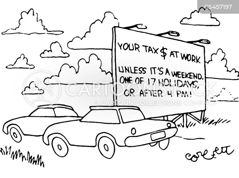 road-worker cartoon