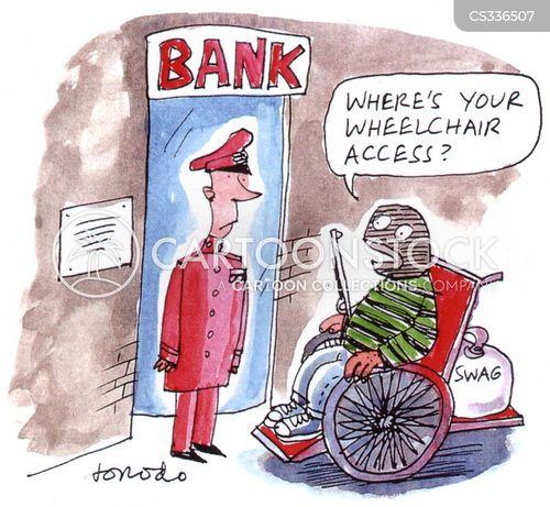 wheelchair access cartoon