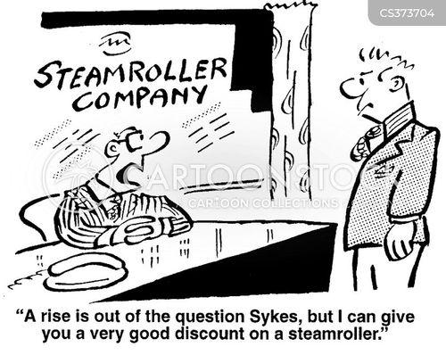 steam-rollers cartoon