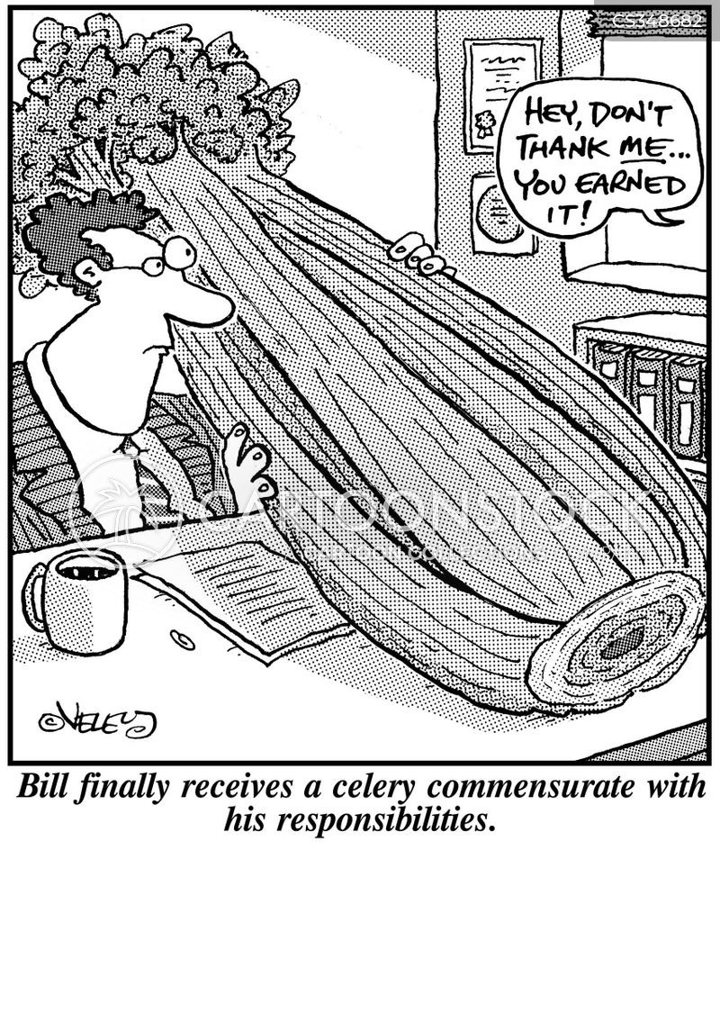 celery cartoon
