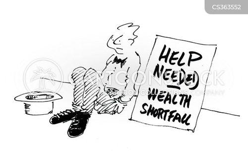 help needed cartoon