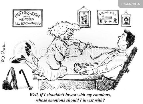 emotional investment cartoon