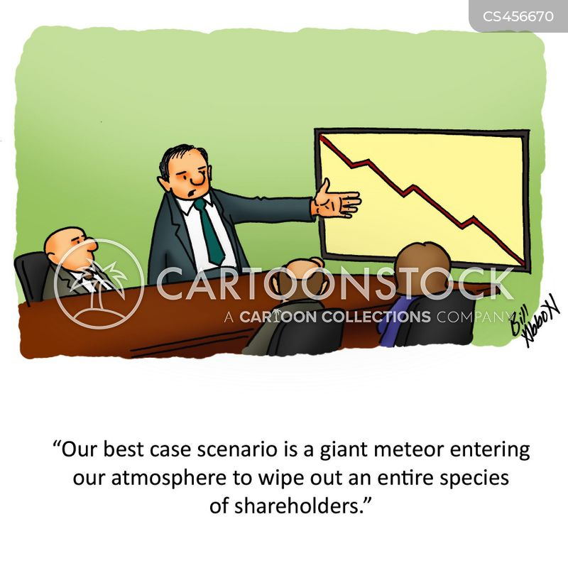 business forecast cartoon