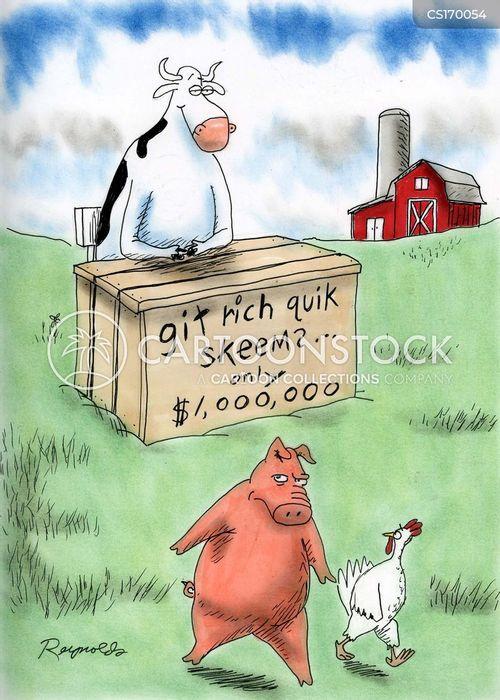 schemes cartoon